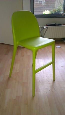 Детский стул, пластиковый,зеленый