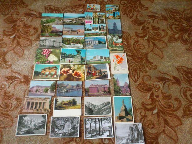 Открытки разные времен СССР