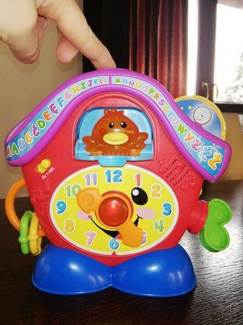 Zegar z kukułka Fischer Price