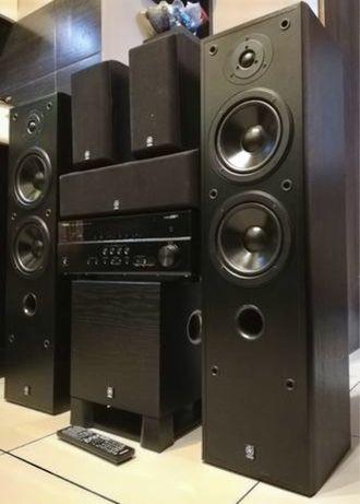 Kino domowe Yamaha 5.1 Subwofer Idealny stan