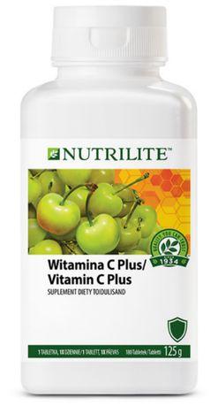 Amway Nutrilite Witamina C-plus-180-szt