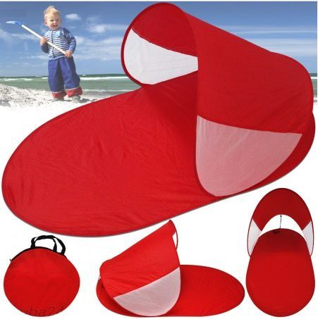 Abrigo de Praia Vermelho novo com saco