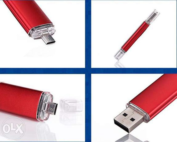 Pen 8gb usb e micro usb