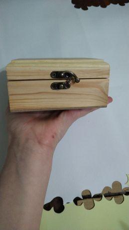 Шкатулка скринька заготовка для декуражу розпис розпису деревянная