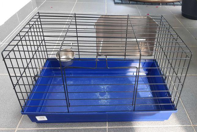 Klatka dla świnki morskiej/królika + żwirek drewniany