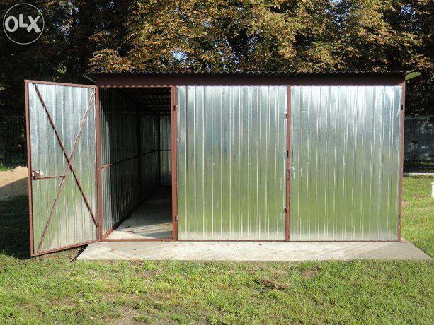 GARAŻ BLASZANY garaże 4x6 z drzwiami 90 PROMOCJA Bydgoszcz okolice