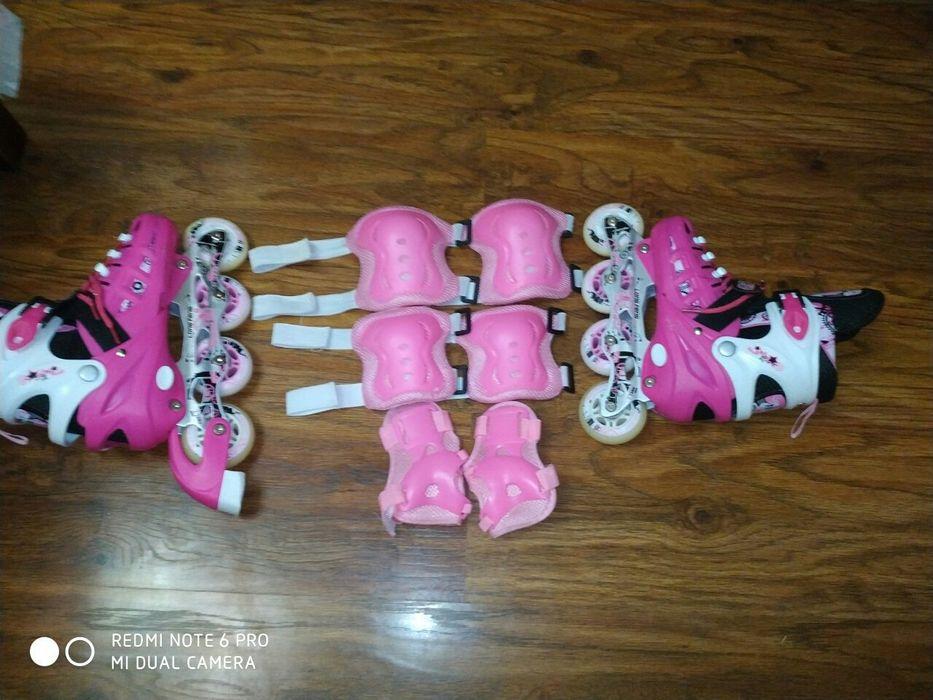 Ролики для дівчаток!!! Розмір 35—37 Южноукраинск - изображение 1