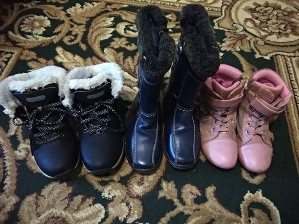 Обувь Сапожки, ботинки для девочки.