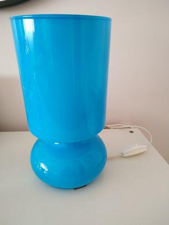 Candeeiro cabeceira IKEA azul