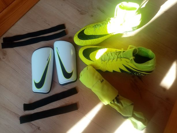 ZESTAW! (Nike Hypervenom Phantom 2 + Ochraniacze + Getry)