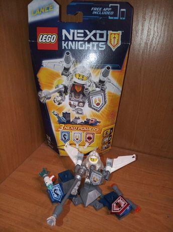 LEGO 70337 kompletny nexo Lance