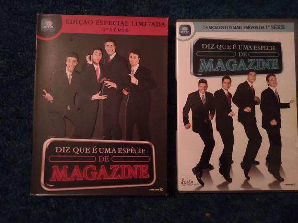 DVDS como novos da serie