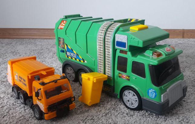 2 Samochody Śmieciarki