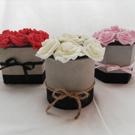 Cementowy Flowerbox Flower Box