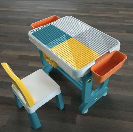 Столик и стульчик 6 в 1 от Poppet,лего-стол,стол-трансформер и стул