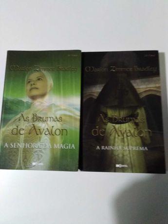 As Brumas de Avalon - Marion Zimmer Bradley -Vol.1e2