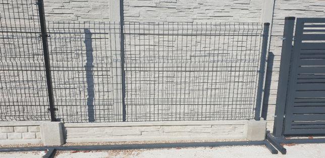 PROMOCJA! Ogrodzenie panelowe FI4, FI5 oczko 50/200; bramy, furtki