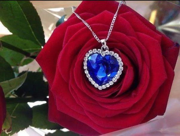 Коллекция Кулон ожерелье Сердце Океана Титаник