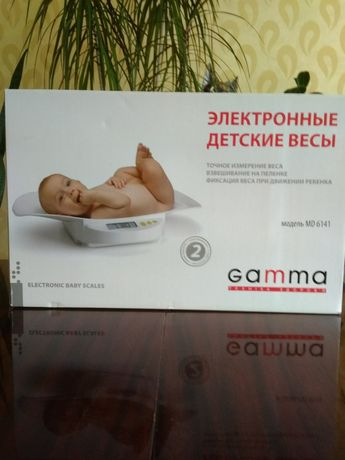 Електронні дитячі ваги  Gamma  MD 6141