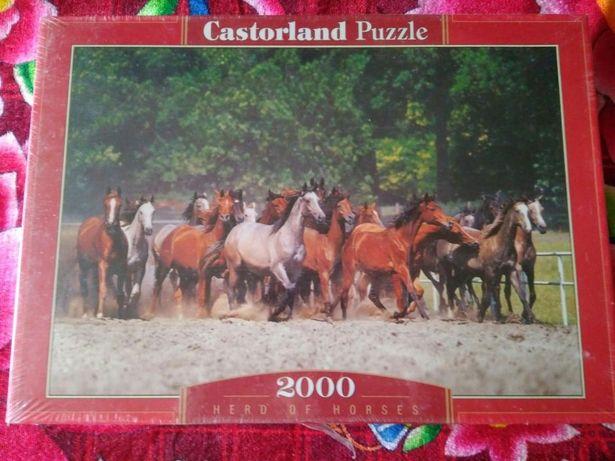 Пазл Castorland Puzzle Herd of horses
