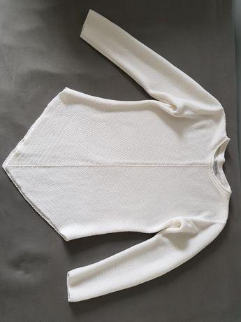 Sweter biały S/M.Jak nowy