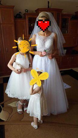 Suknia ślubna biala