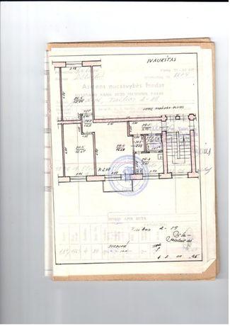 Продам 3к комнатную квартиру в Литве