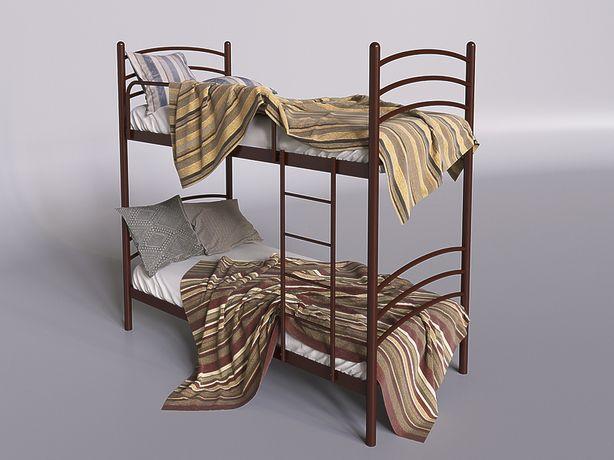 Двухъярусная кровать металлическая скидки на онлайн заказы