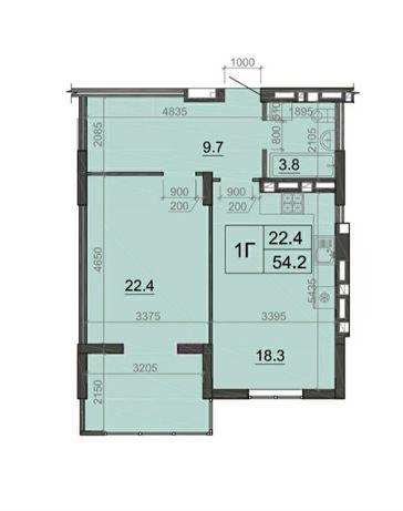 Остання квартира на 8-му поверсі!
