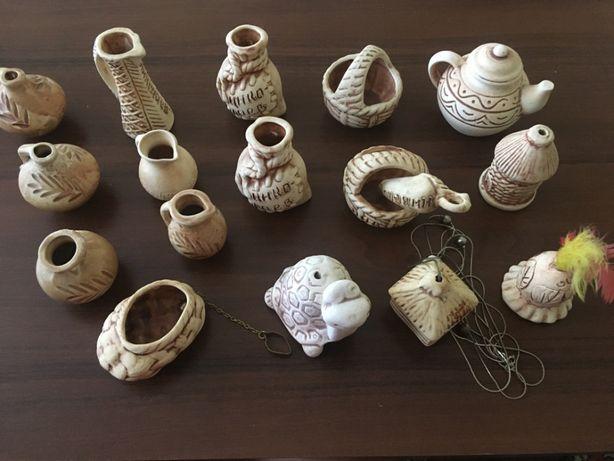 Коллекция керамических сувениров, 17 шт.