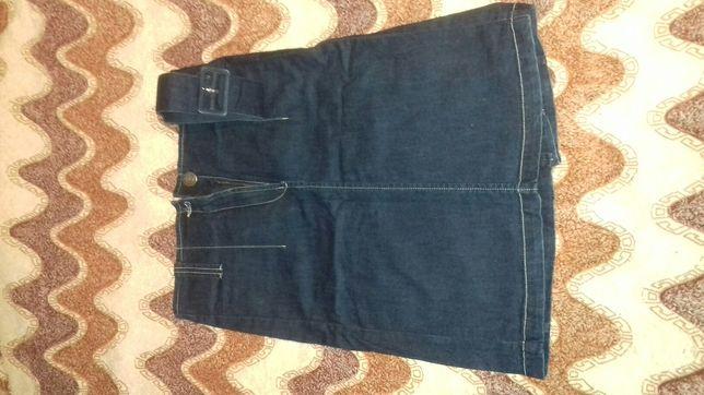 Юбка фирмы Calvin Klein джинсовая