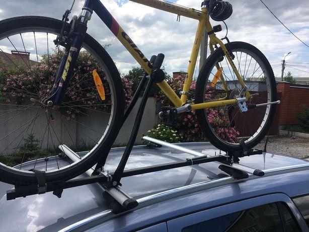 Велокрепление для велосипедов на крышу авто багажник вело крепление