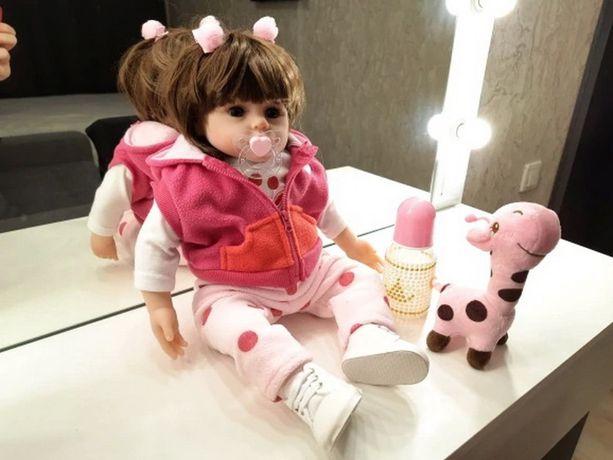 Лучшая кукла Реборн 2020 Карина, без запаха, качественный силикон