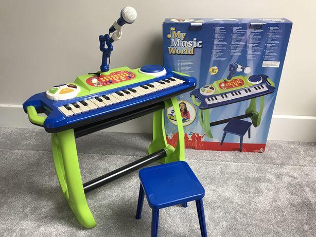 Pianinko Simba z mikrofonem