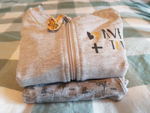 Dresy coccodrillo r.74 bluza spodnie