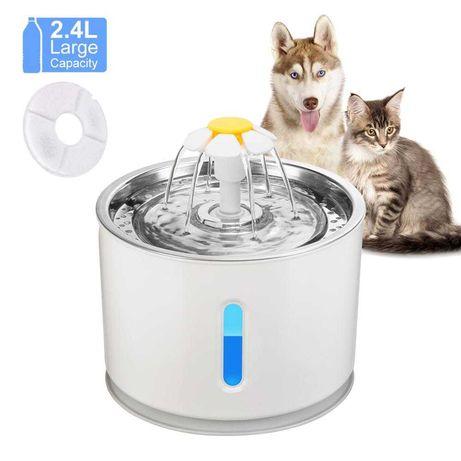[NOVO] Bebedouro fonte de água para gato ou cão 2.5L