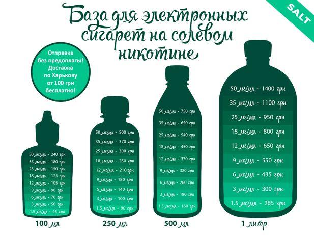 База (основа, жидкость) на Солевом никотине HiLiq для Pod Vape Salt