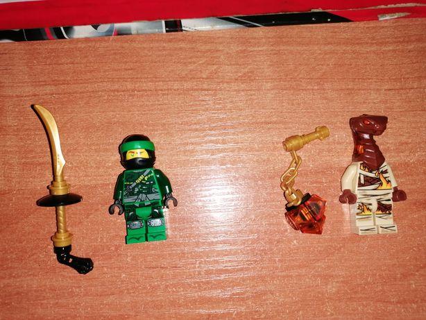 Lego ninjago Lloyd i Płomienna żmija