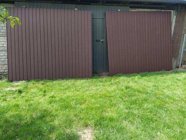 Brama garażowa przesuwna 2sztuki