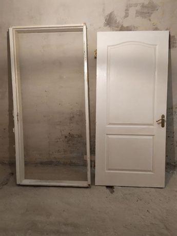 Дверь канадская 200х90 бу