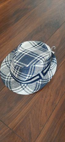 Nowy kapelusik kapelusz eko 100% papier eko 0-12 m