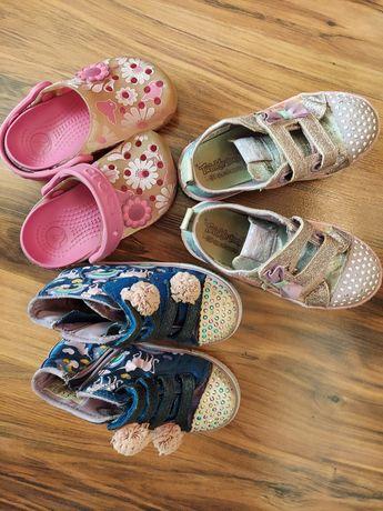 Trampki Skechers, Crocs, Next, H&M, C&A
