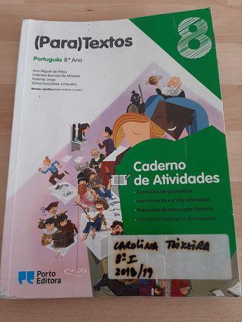 (Para) Textos 8ºAno - Caderno de atividades