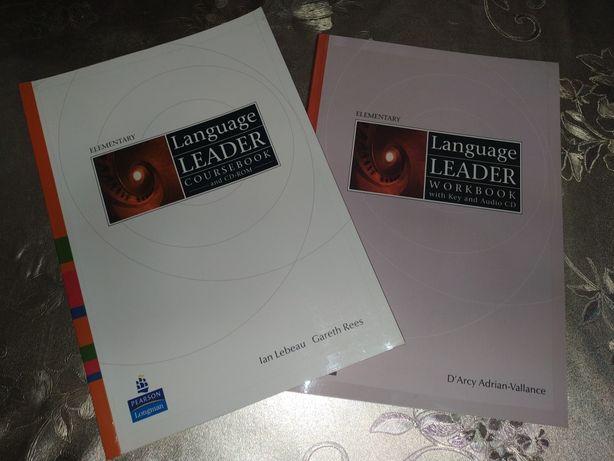 Language Leader, Course book, Pearson, Longman, Англійська, Английский