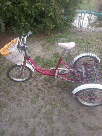 Rower trzykołowy