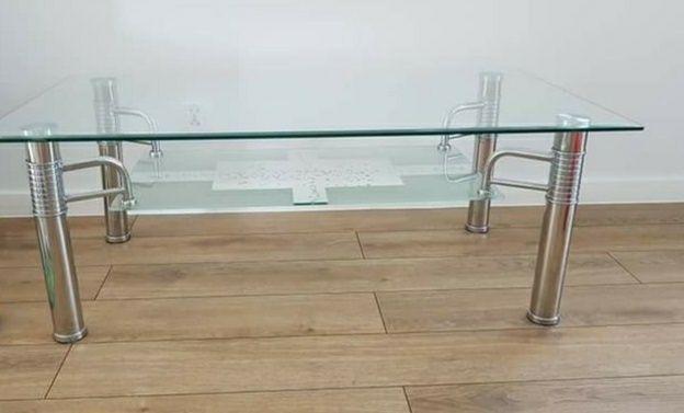 Stolik szklany 120x70