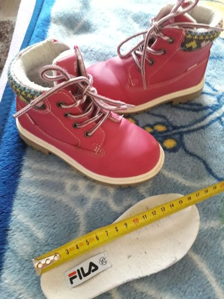 Fila buciki roz.25