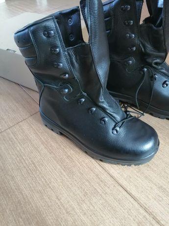 Buty skórzane róż 27,5