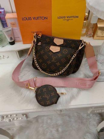Женская сумочка от Louis Vuitton 3в1,4 цвета, женская сумка, + ПОДАРОК