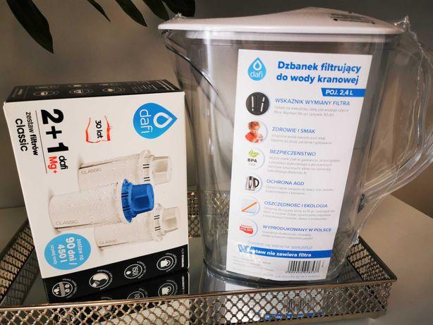 Nowy dzbanek filtrujący Dafi 2,4l +zestaw filtrów